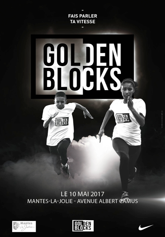 Affiche Golden Blocks